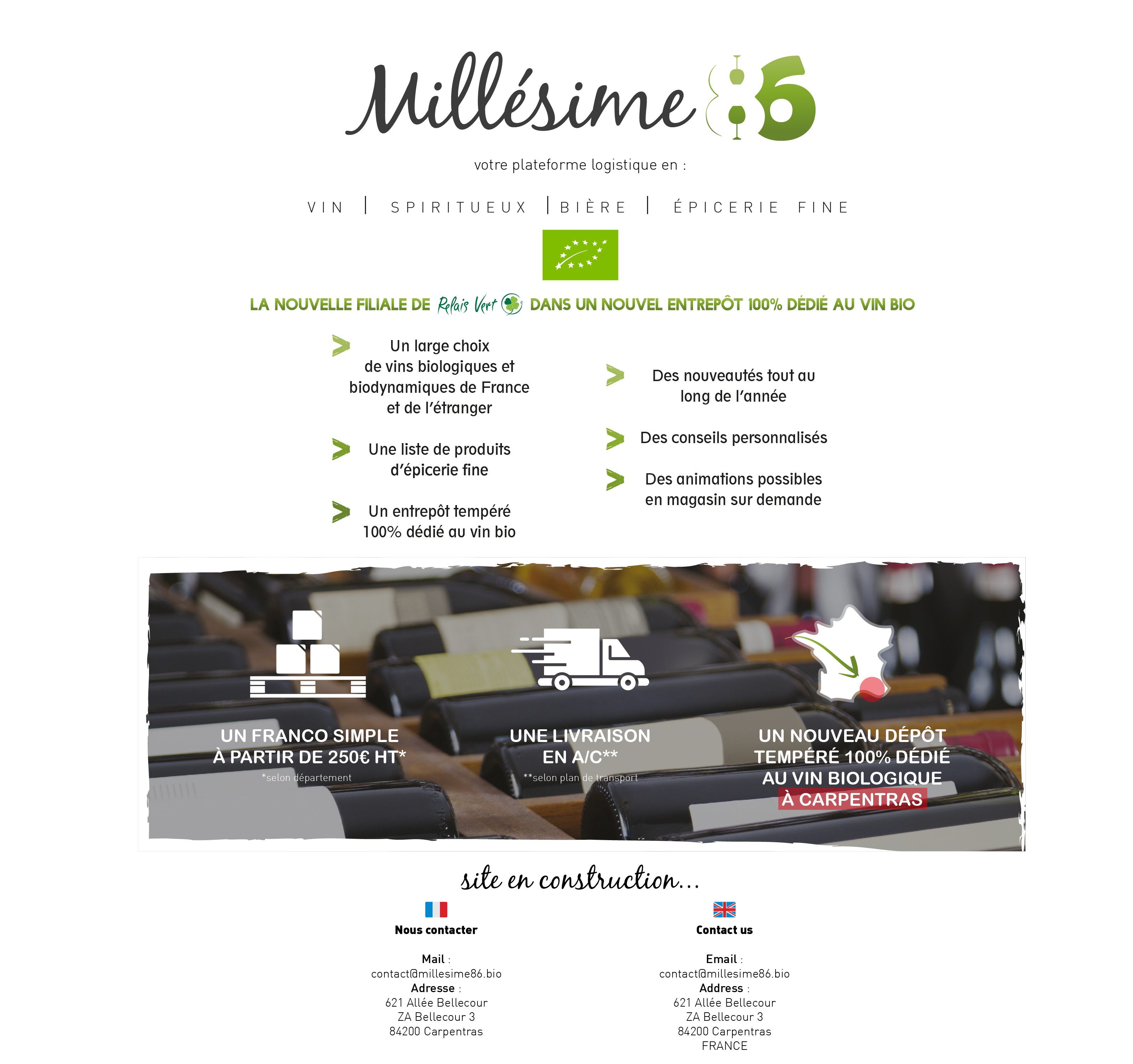 Millesime 86 carpentras